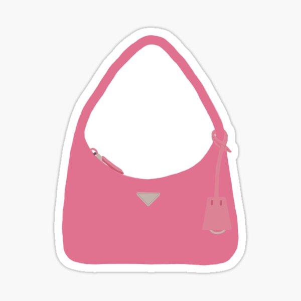 Pink Handbag Sticker