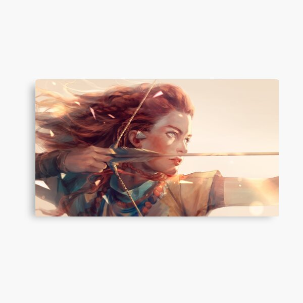 Horizon scenery  Metal Print
