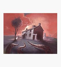 Isolated House Photographic Print