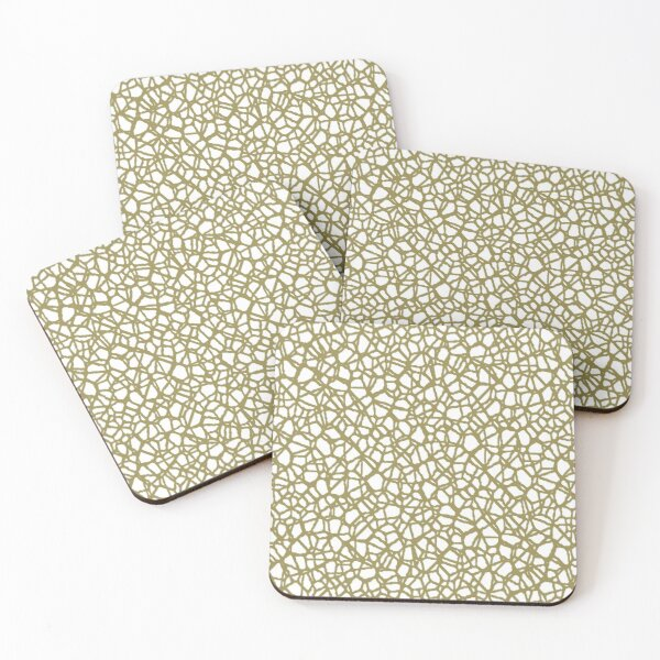 Staklo (Brown) Coasters (Set of 4)