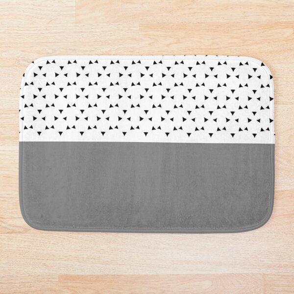 Razni (Gray) Bath Mat