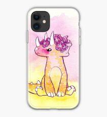Flowertops iPhone Case