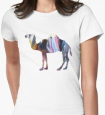 Dromedary  Womens Fitted T-Shirt