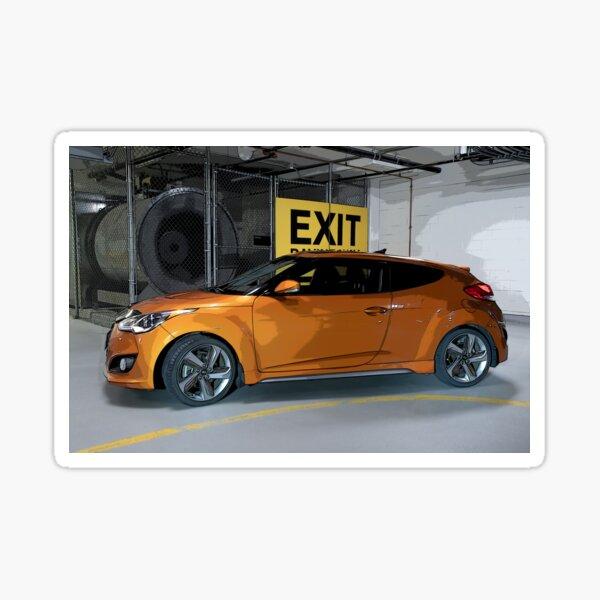 Exit Veloster Sticker