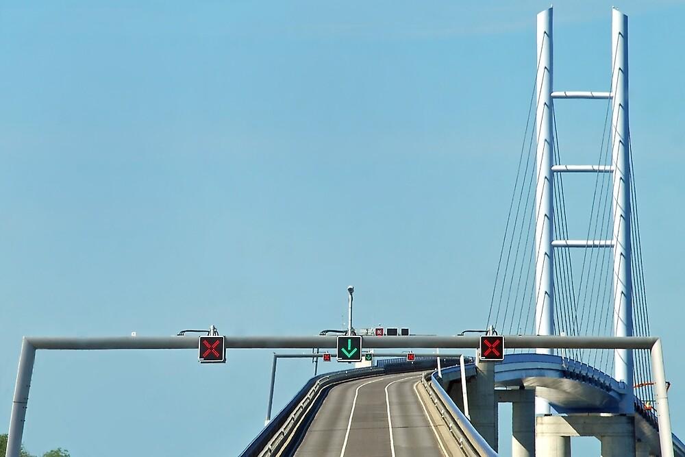 Ruegen - Stralsund bridge - Germany by Arie Koene