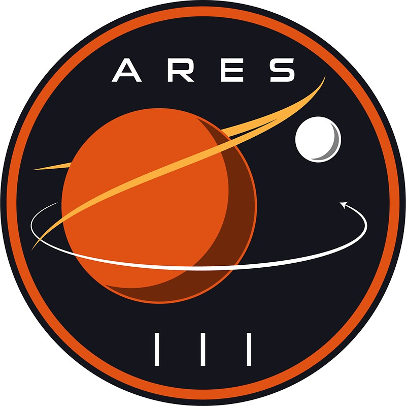 """""""ARES III - The Martian"""" Stickers by David White 