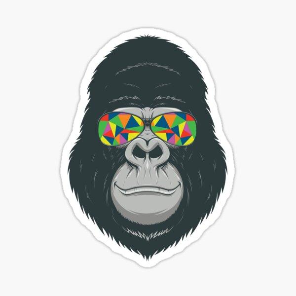 Laptops 3 x Gorilla Monkey donkey king kong vinyl sticker//decal Car window