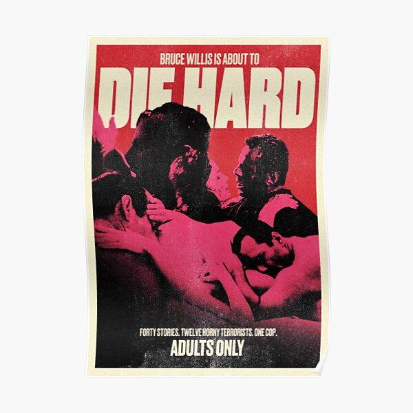 DIE HARD 1988 (VINTAGE EROTICA POSTER) Poster