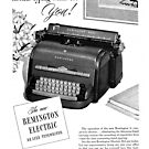 Remington Electric Typewriter 1940s ad by coralZ