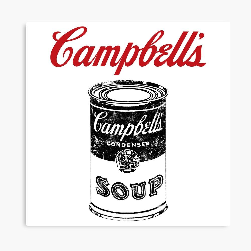 Campbell Suppe Leinwanddruck