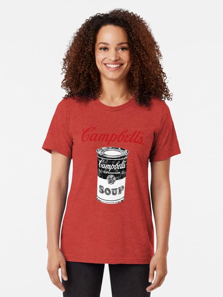 Alternative Ansicht von Campbell Suppe Vintage T-Shirt