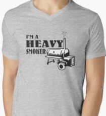 I'm a Heavy Smoker Men's V-Neck T-Shirt