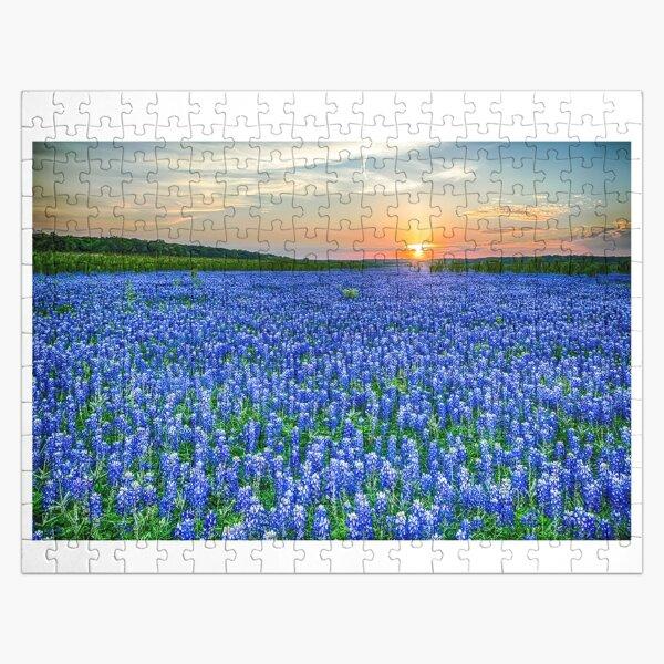 Texas Bluebonnet Vista Jigsaw Puzzle