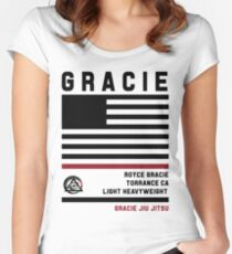 Royce Gracie - Fight Camp Collection Women's Fitted Scoop T-Shirt