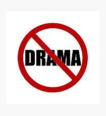Lámina fotográfica No Drama