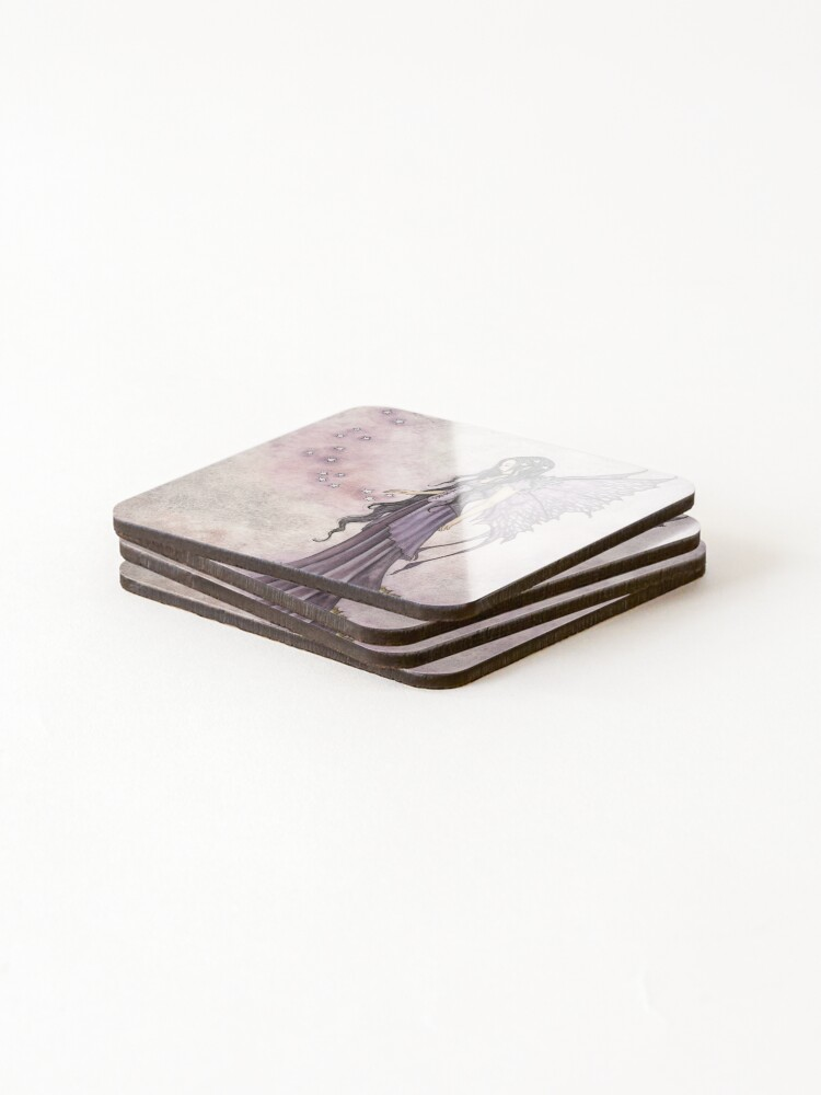Alternate view of I Will Return As Stars Coasters (Set of 4)