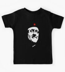 CORBYN, Comrade Corbyn, Leader, Labour Party, Politics, Black on RED Kids Tee