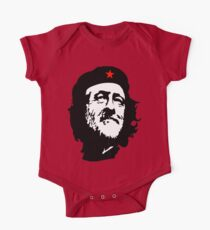 CORBYN, Comrade Corbyn, Leader, Labour Party, Politics, Black on RED Kids Clothes