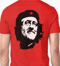 CORBYN, Comrade Corbyn, Leader, Labour Party, Politics, Black on RED T-Shirt
