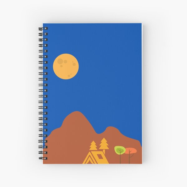 Camping atmosphere Spiral Notebook