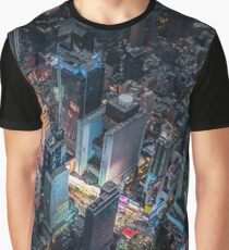 Times Square Nightlife Graphic T-Shirt