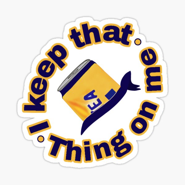 Twisted Tea smack meme keep that thing on me Sticker