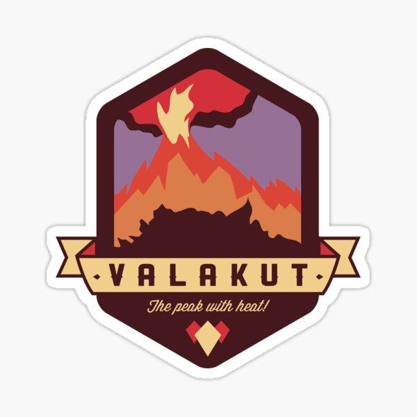 Valakut - The peak with heat! Sticker
