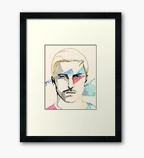 eclipsed Framed Print