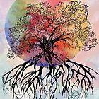 Watercolor Tree by HannahJConti