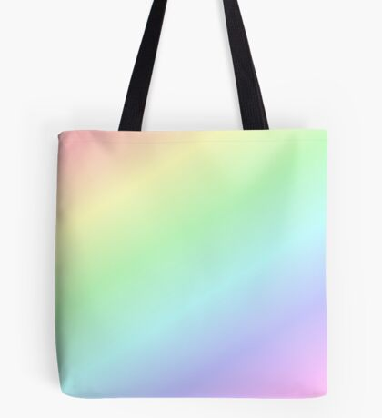 NEW TO REDBUBBLE - A RAINBOW RANGE  Tote Bag
