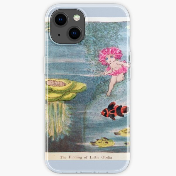 The Finding of Little Obelia - May Gibbs - Snugglepot and Cuddle Pie  iPhone Soft Case