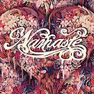 «Namaste Floral Heart» de KristyPatterson