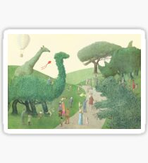 The Night Gardener - Summer Park  Sticker