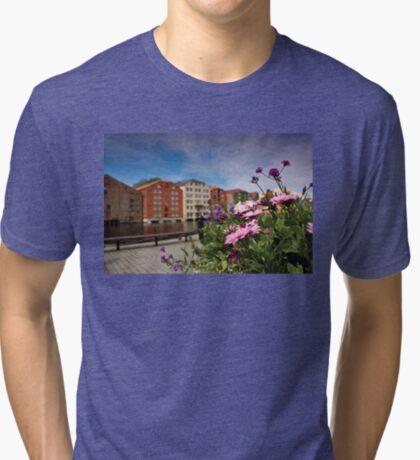 Flowers in Trondheim Tri-blend T-Shirt