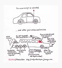 Your Manuscript On Peer Review Photographic Print
