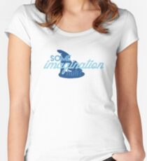 Some Imagination, Huh Women's Fitted Scoop T-Shirt