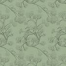 The Night Gardener - Endpapers  by Terry  Fan