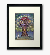 Tree House Framed Print