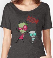 Invader Zim & Gir Doom! Women's Relaxed Fit T-Shirt