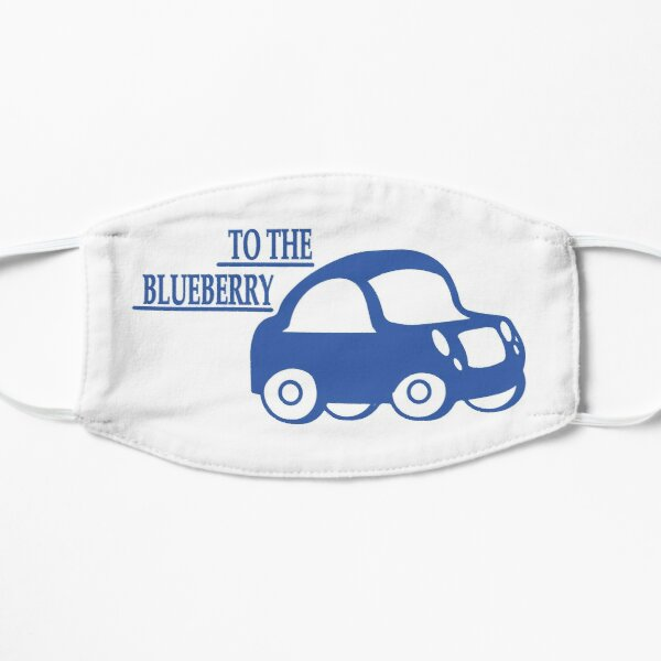 To the Blueberry - Psych Tv Show Blueberry - Best Psych Tv Show Quotes - Psych Tv Show Gifts Mask