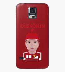 Kimi Räikkönen 2016 - Farbe Hülle & Klebefolie für Samsung Galaxy