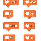 Instagram Likes von gracieallen95