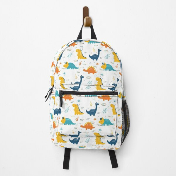 Funny patterned dinosaurs Backpack