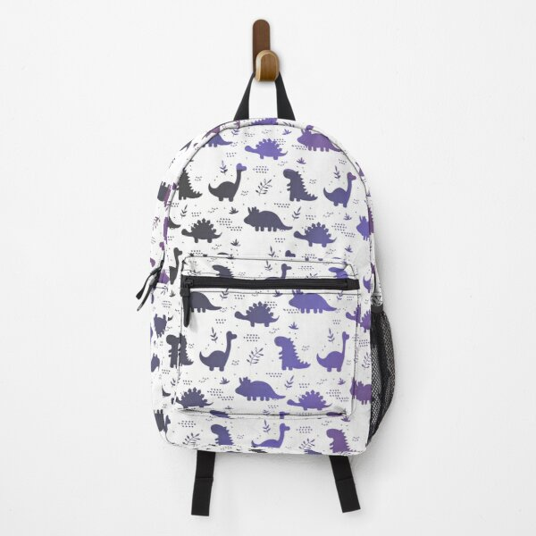 Funny purple dinosaurs Backpack