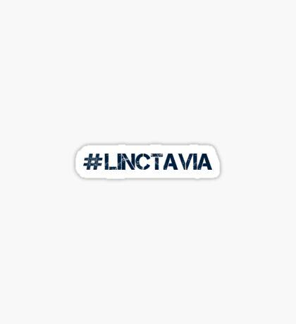 #LINCTAVIA (Navy Text) Sticker