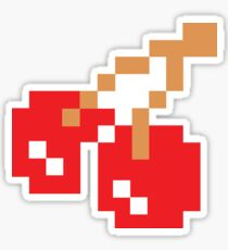 8-Bit Cherry Sticker
