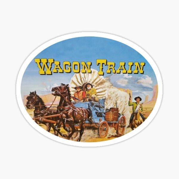 Wagon Train Sticker