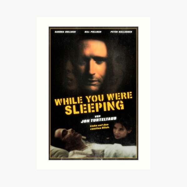WHILE YOU WERE SLEEPING 1995 (DIRECTED BY DAVID LYNCH) Art Print