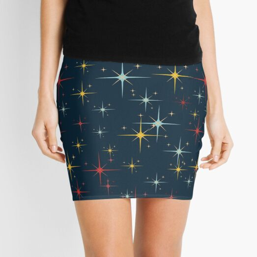 STARRY NIGHTS Mini Skirt