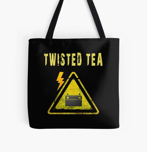Twisted Tea  Best Design,Be a little twisted  All Over Print Tote Bag